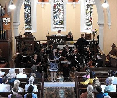 St Agnes' Chamber Orchestra in Dunlavin June 2019