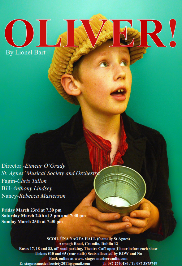 "Tenth production – ""Oliver!"", March 2018"