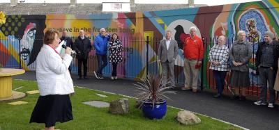 Phil Lynott Mural Launch