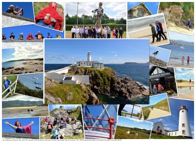 St Agnes' visit Fanad Head Donegal