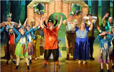 Cast of Hansel and Gretel