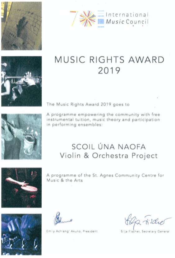Music Rights Award