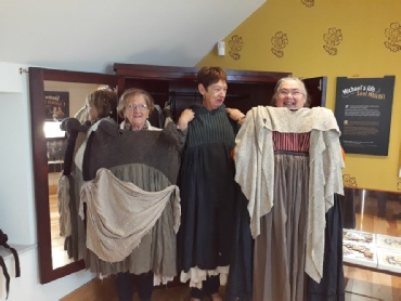 St Agnes' Dresses up